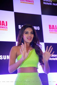 Nidhhi Agerwal at Samsung Galaxy Note 10 Launch
