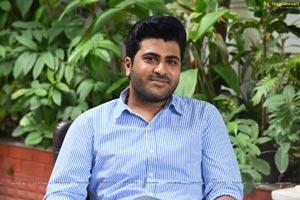 Sharwanand at Ranarangam Interview