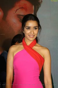 Shraddha Kapoor at Saaho Movie Press Meet