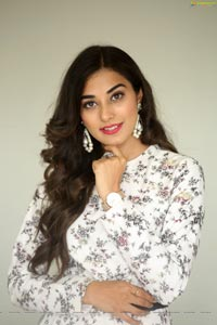 Stefy Patel at Ninnu Thalachi Teaser Launch