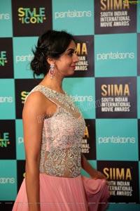 Sanjjanaa at SIIMA 2019
