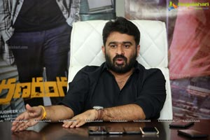 Sudheer Varma at Ranarangam Movie Interview