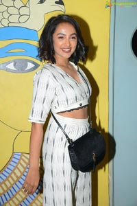 Tejaswi Madivada at Evaru Movie Premier Show