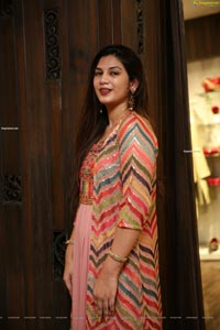 Hasini Chowdary at Neeru's 2020 New Collection