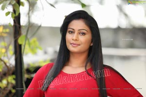 Sawali S Nandaragi in Red Top and Jeans