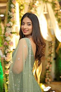 Archana Ravi in Pastel Green Lehenga Choli