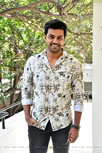 Arjun Ambati at Sundari Movie Interview
