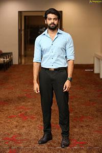 Adith Arun Stills at Dear Megha Movie Pre-Release Event