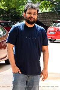 Chaitanya Bharadwaj Stills at SR Kalyanamandapam Interview