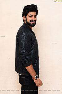Deekshith Shetty at Dia Movie Pre-Release Event