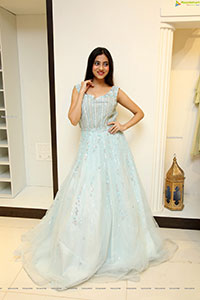 Dimple Thakur in Baby Blue Gown