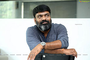 Director Karuna Kumar at Sridevi Soda Center Interview