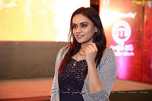 Anchor Geetha Bhagat at Master Chef Press Conference