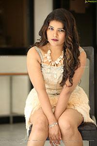 Hyma Kumari at Devuditho Sahajeevanam First Look Launch