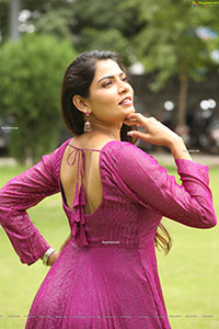 Indu Kusuma at Mad Movie Press Meet