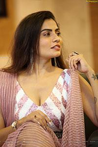 Indu Kusuma at Merise Merise Movie Pre- Release Event