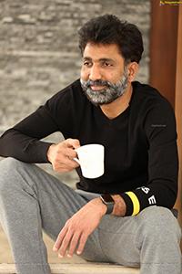 Producer Kiran Talasila at Crazy Uncle Interview