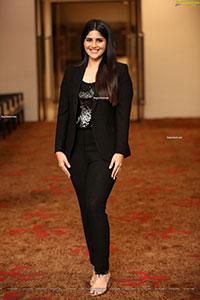Megha Akash at Dear Megha Movie Pre-Release Event