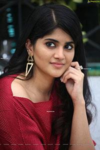 Megha Akash at Raja Raja Chora Movie Interview