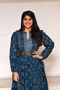 Megha Akash at Raja Raja Chora Pre-Release Event