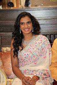 PV Sindhu at Vasundhara Flagship Jewellery Store Launch