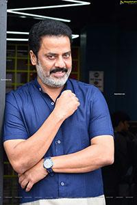 Raja Ravindra at Crazy Uncles Movie Interview