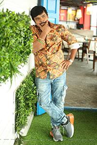 Sampoornesh Babu at Bazar Rowdy Movie Interview