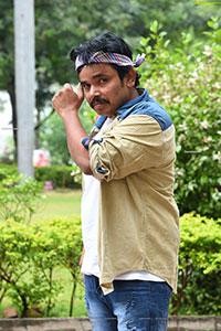 Sampoornesh Babu at Bazar Rowdy Movie Trailer Launch