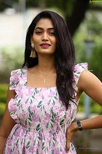 Spandana Palli at Mad Movie Press Meet