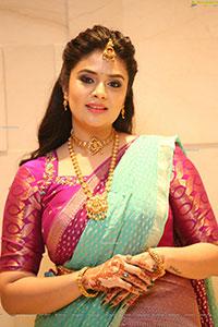 Sreemukhi at SR Kalyanamandapam EST1975 Pre-Release Event