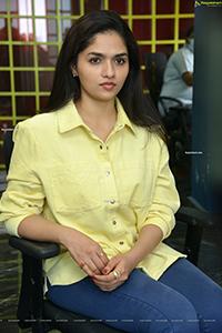 Sunaina at Raja Raja Chora Movie Interview