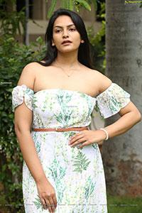 Swetha Varma at Mad Movie Press Meet