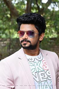VJ Sunny at Sakala Gunabhi Rama Movie Press Meet