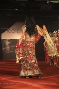 Shriya showcasing Neeta Lulla's Designer Lehenga Choli