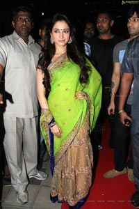 Tamanna in Green Saree