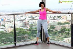 Hamsa Nandini Gym Workout