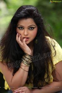 Sonali Joshi in Yellow Dress