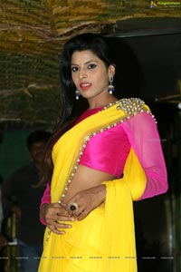 Manisha Pillai in Saree