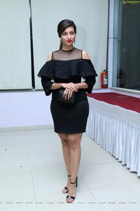 Hamsa Nandini Black Dress
