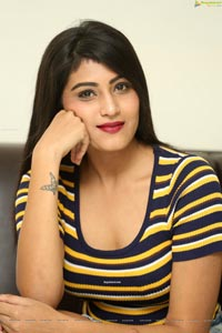 Divya Rao at Degree College Press Meet