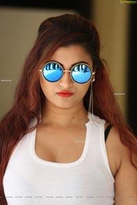 Gunnjan Aras at Wife,I Movie Press Meet