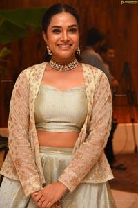Hari Teja at Prathi Roju Pandage Pre-Release Event