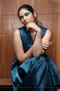 Hasini Chowdary at New Mercedes-Benz GLC Launch Party