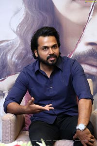 Karthi at Donga Movie Interview