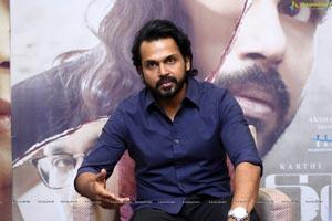 Karthi at Donga Movie Interview