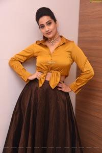 Manjusha at Venky Mama Press Meet