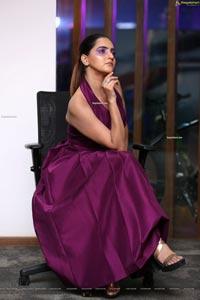 Pooja Thakur at Mercedes-Benz GLC Launch