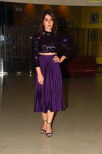 Raashi Khanna at Prati Roju Pandage Pre-Release