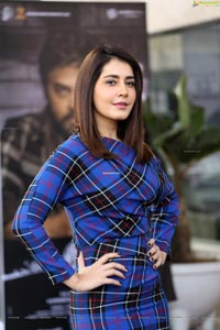 Raashi Khanna at Venky Mama Press Meet