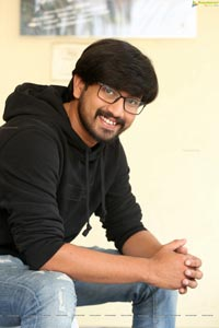 Raj Tarun at Iddari Lokam Okate Interview